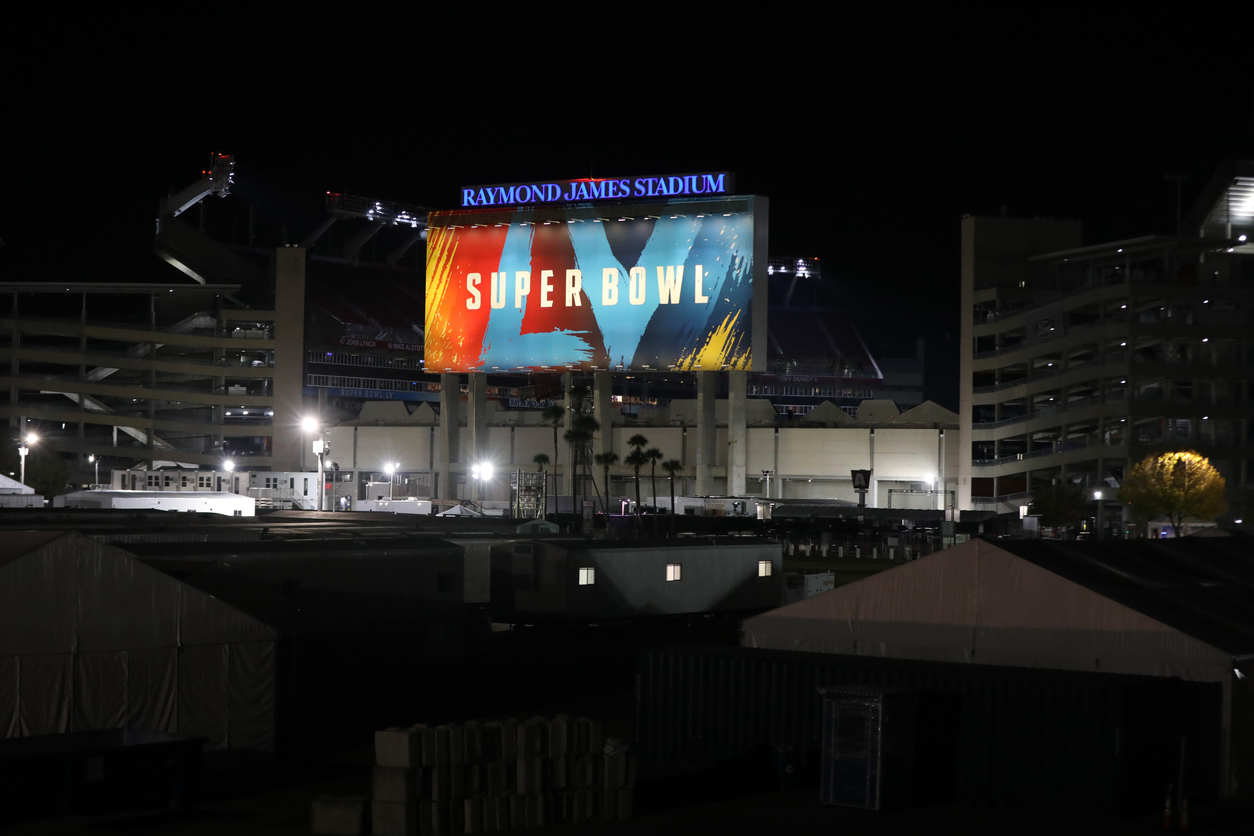 superbowl sign